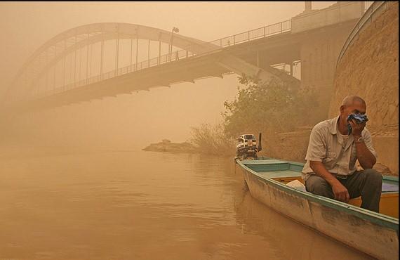 گرد و غباردر خوزستان