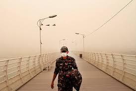 ریزگردها خوزستان را فرا میگیرد