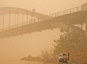 ریزش باران اسیدی در کرمانشاه