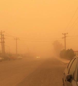 آلودگی هوا در خرم آباد 3 و نیم برابر حد مجاز استاندارد