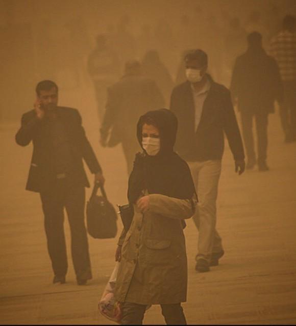 آسم و التهاب ریه؛ سوغات گرد و غبار