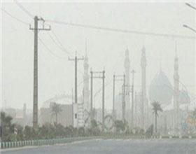 ریزگردها میهمان آسمان تهران