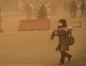 تداوم گرد وغبار در 6 منطقه خوزستان
