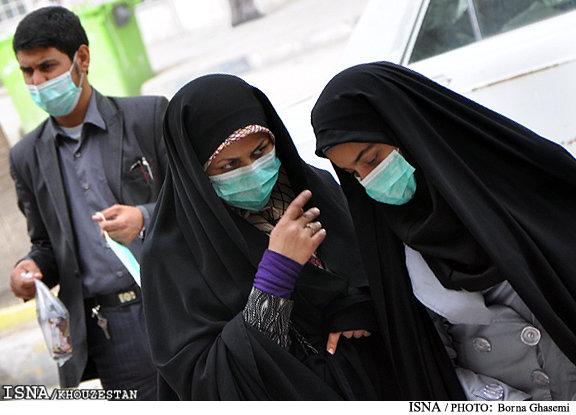 هوای امروز اهواز، ناسالم برای گروههای حساس