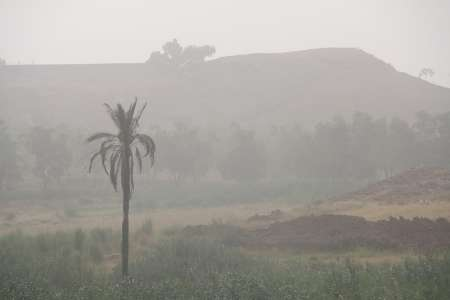 آسمان شهرستان مرزی قصرشیرین امسال 109 روز غبارآلود بود