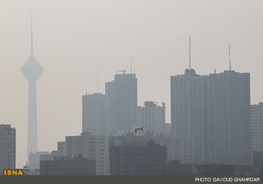 ثبت نخستین روز هوای آلوده در سال ۹۶