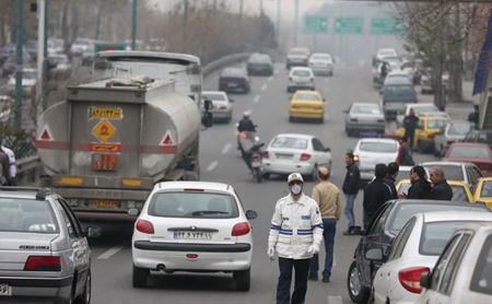 سهم سالانه هر تهرانی از تولید آلودگی هوا؛ ٨٠ کیلو گرم