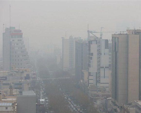 این بار گرما آلودگی هوای تهران را تشدید کرد