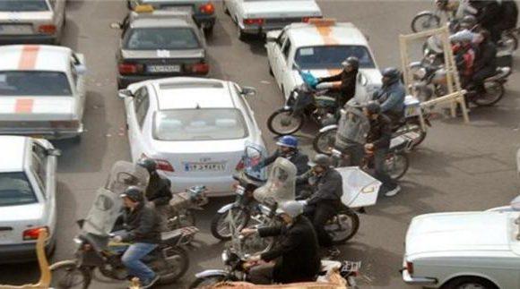 موتورسیکلت ها عامل یک چهارم آلودگی هوای تهران