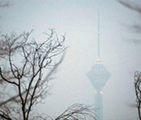 آلودگی شهر تهران از مرز هشدار عبور کرد