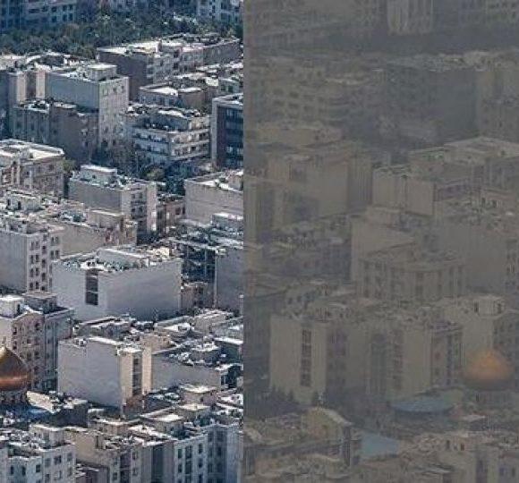 آلودگی هوا در تهران روز به روز بحرانی تر می شود