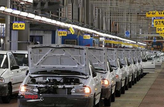 جلوگیری از تولید خودروهای غیر استاندارد