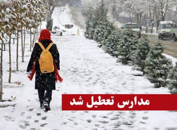 مدارس بجای تعطیلی در برابر آلودگی هوا و برف تجهیز شوند