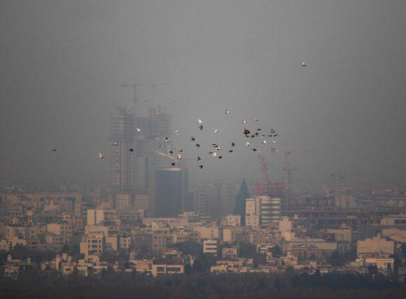 دهمین روز استمرار آلودگی هوا در پایتخت