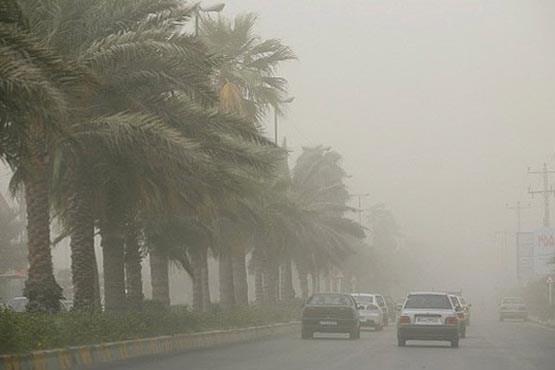 وضعیت آلودگی هوا در شهر کرمانشاه به مرز هشدار رسید