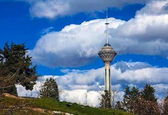 هوای تهران در وضعیت سالم