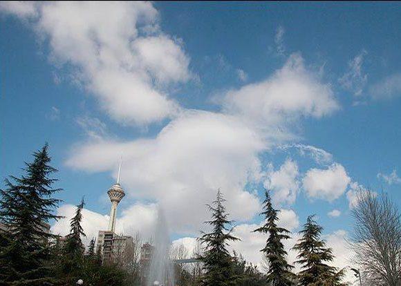 کیفیت هوای تهران امروز پنچ شنبه 16 فروردین