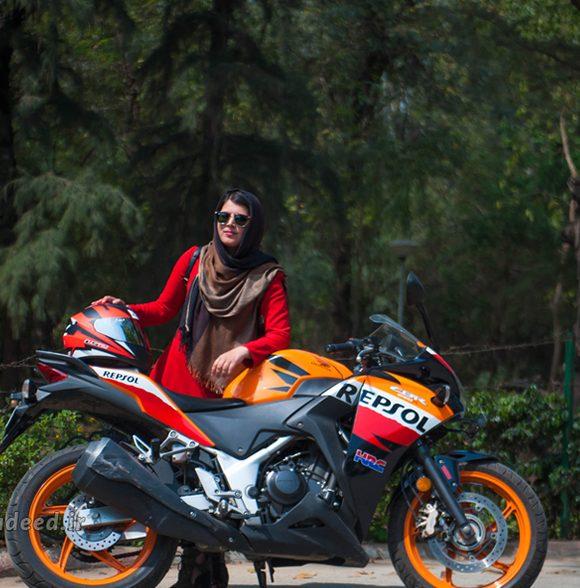 موتورسواري خانمها، راهكار كاهش آلودگي هوا
