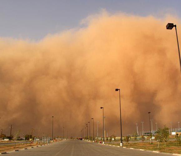 تشکیل کارگروه مقابله با گرد و غبار در استان تهران