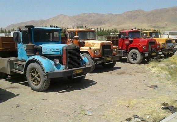 نوسازی کامیونهای فرسوده با وام 320 میلیونی
