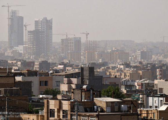 کیفیت هوای ۳ منطقه مشهد در شرایط ناسالم قرار گرفت