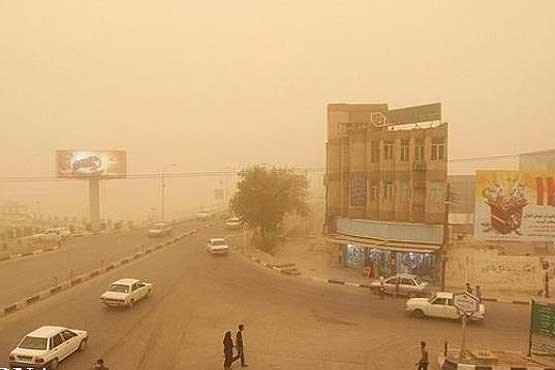هوای فردای کردستان غبارآلود